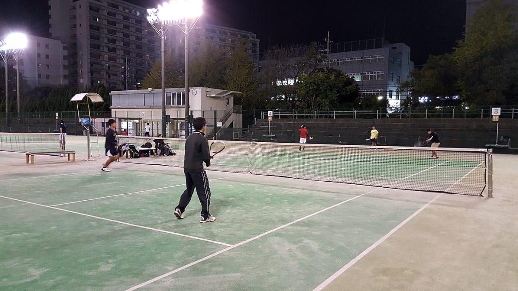 mixiソフトテニス練習