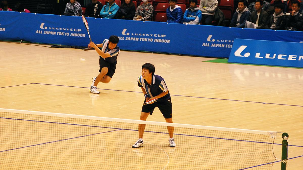 ルーセントカップ東京インドア全日本ソフトテニス大会,本倉・上松,岡山理科大学附属高校