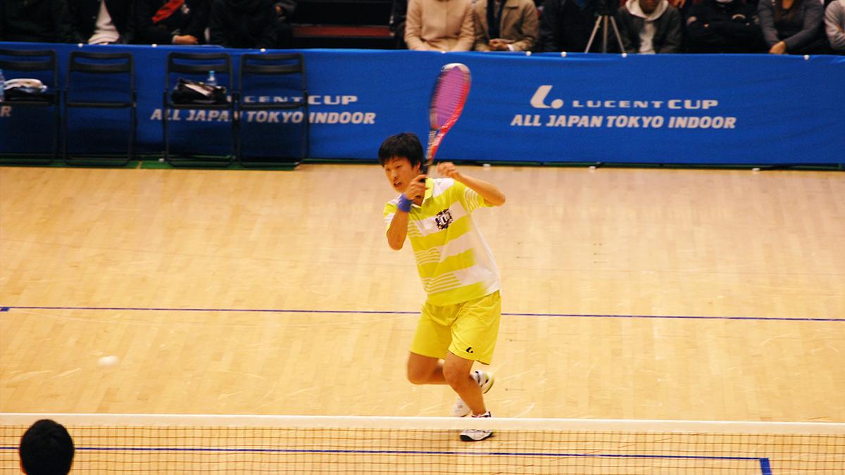 ルーセントカップ東京インドア全日本ソフトテニス大会,上松俊貴,岡山理科大学附属高校