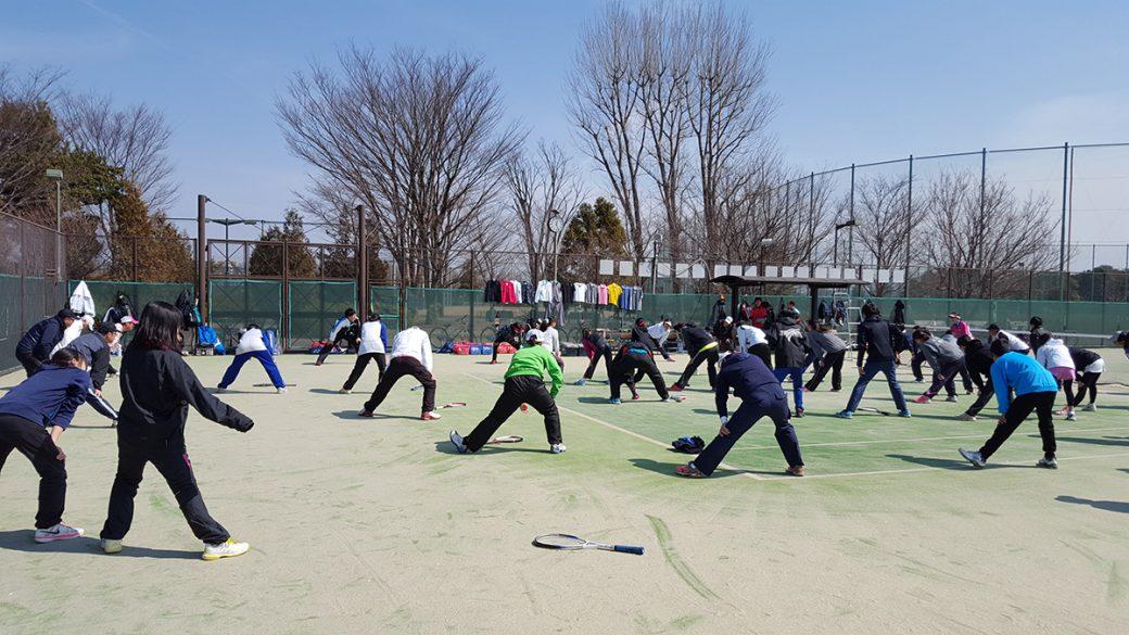 三鷹市ソフトテニス講習会