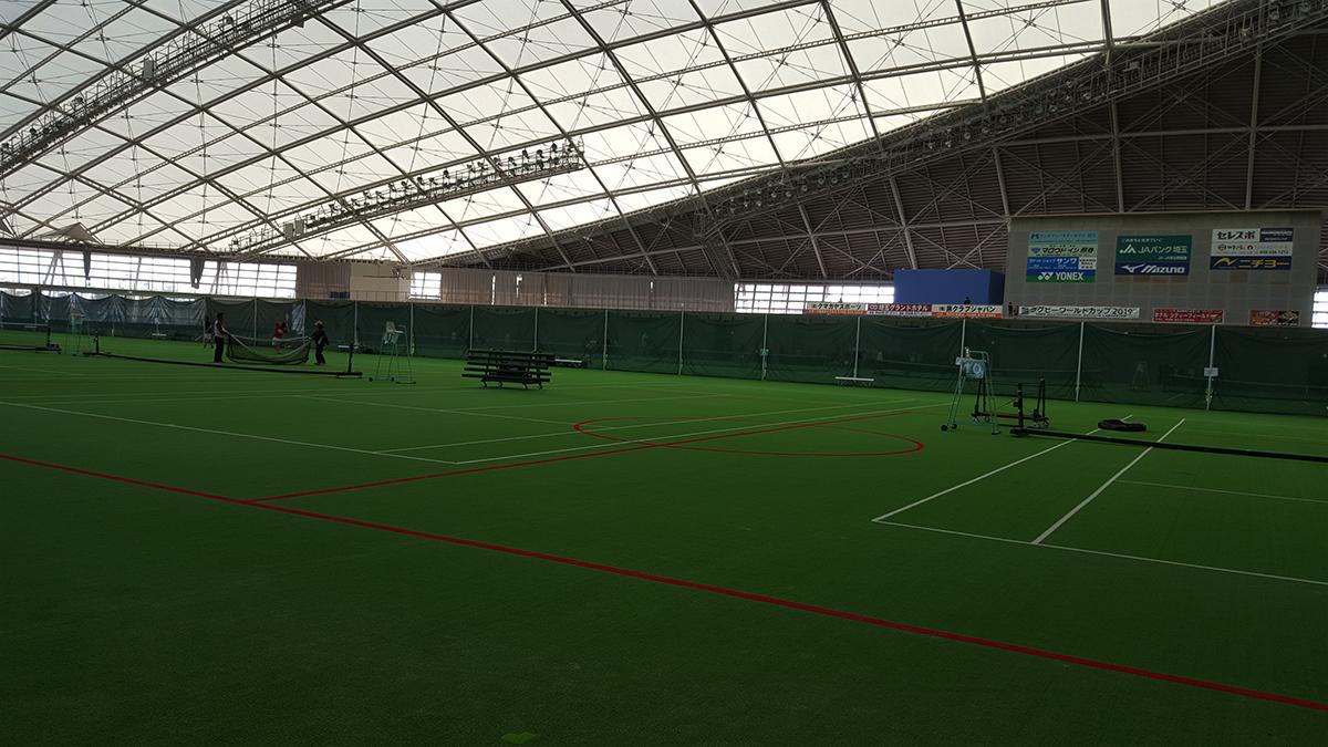 関東ソフトテニス選手権大会埼玉県予選,くまがやドーム