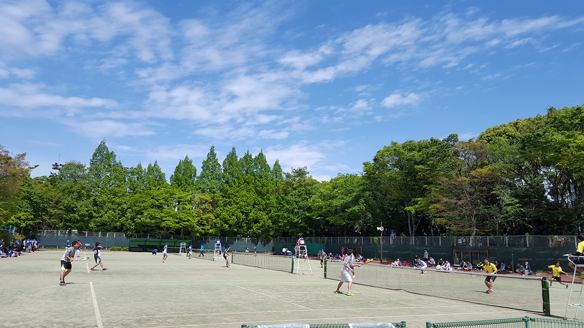 東京都ソフトテニスクラブ対抗戦,有明テニスの森