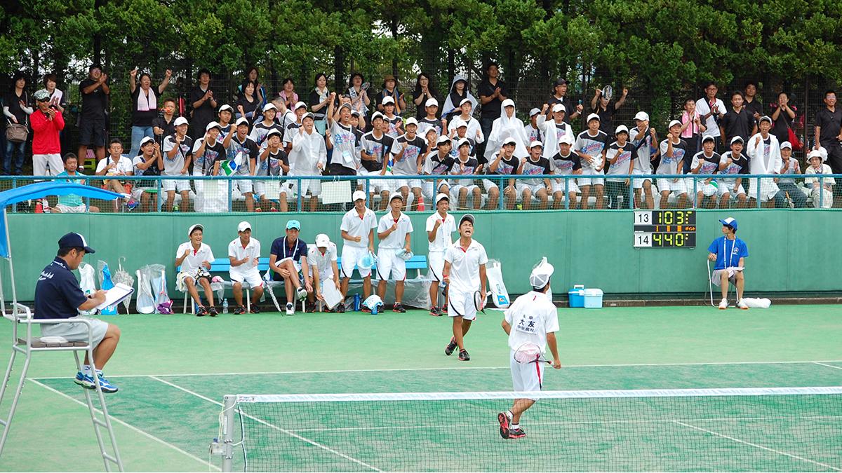 インターハイ,ソフトテニス,団体戦,中京