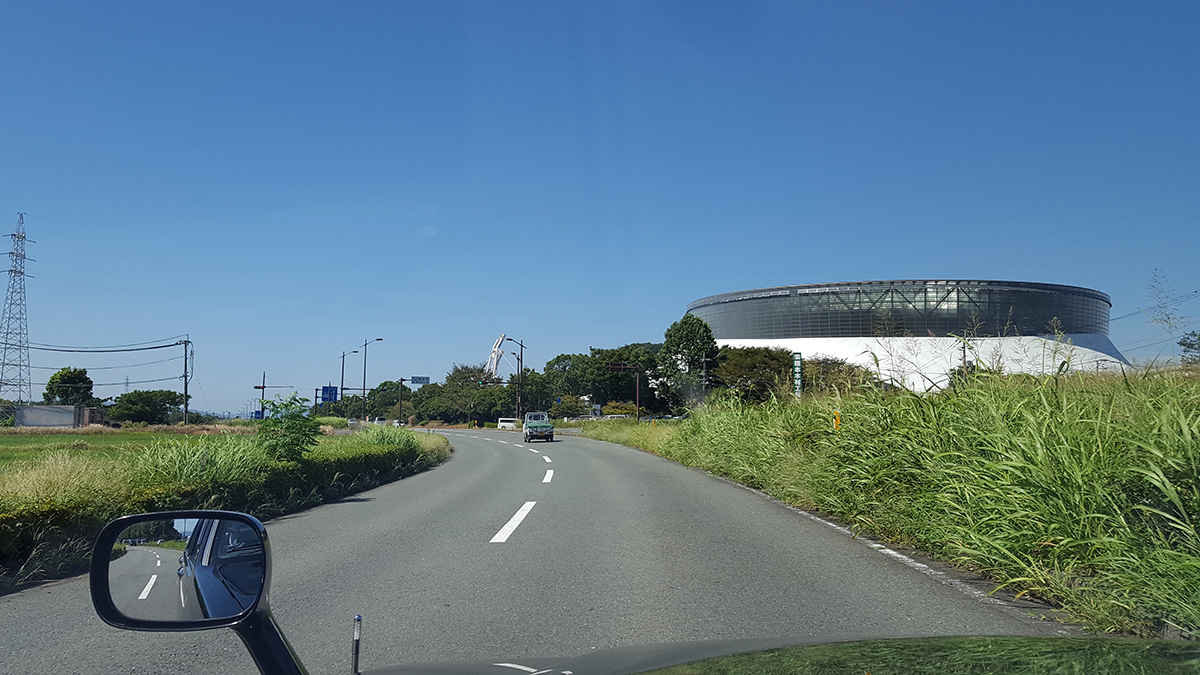 熊本市内観光,熊本県民総合運動公園,熊谷パークドーム