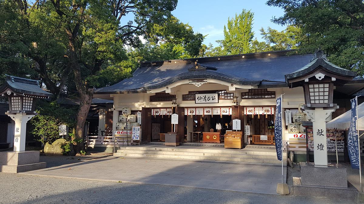熊本城,熊本市内観光,加藤神社