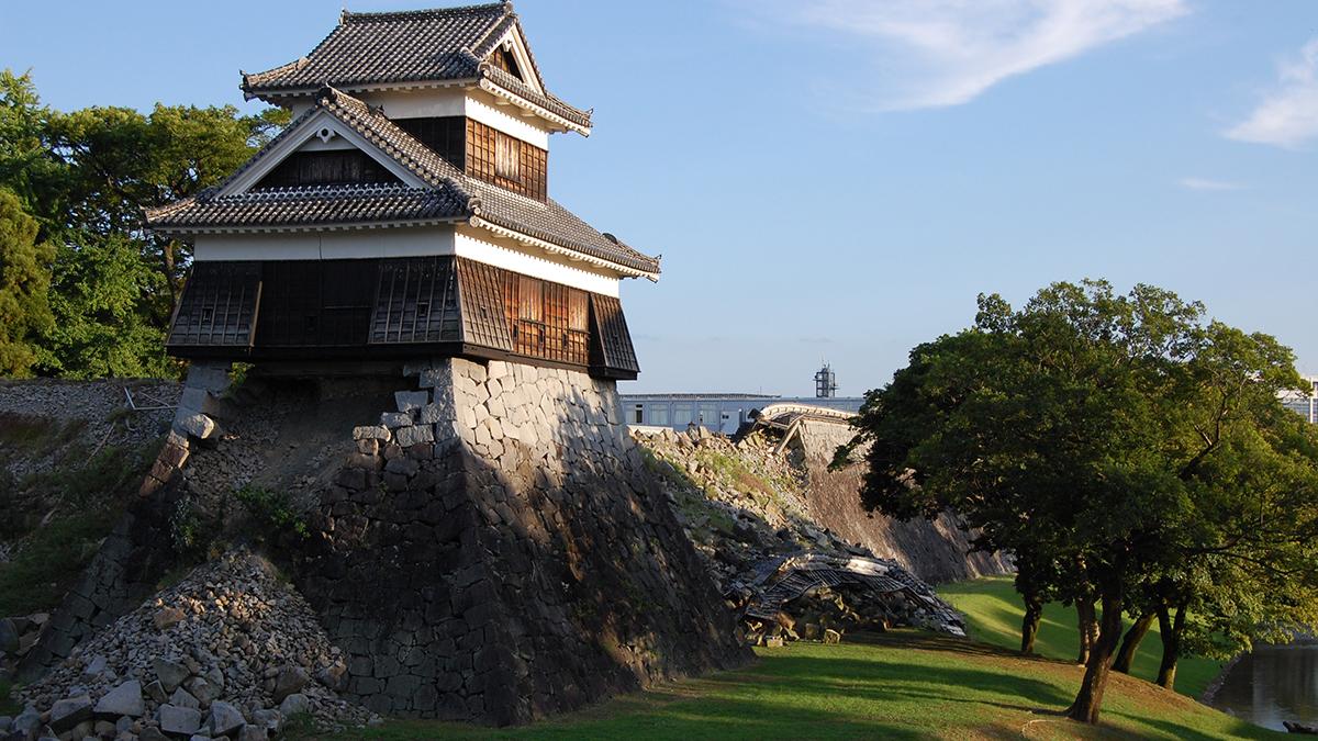 熊本城,熊本市内観光,震災復興
