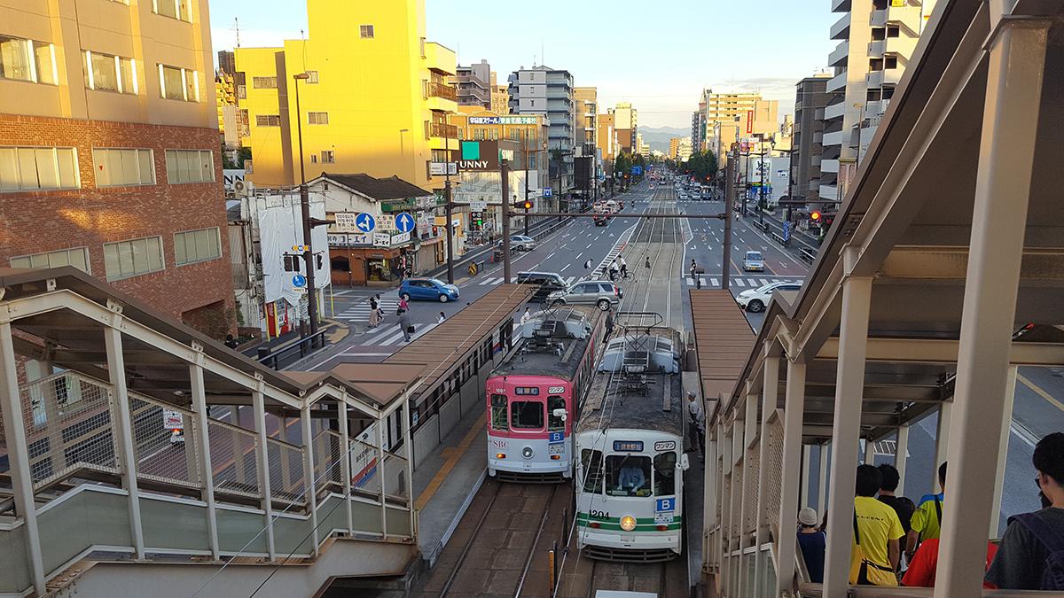 熊本城,熊本市内観光,熊本市電