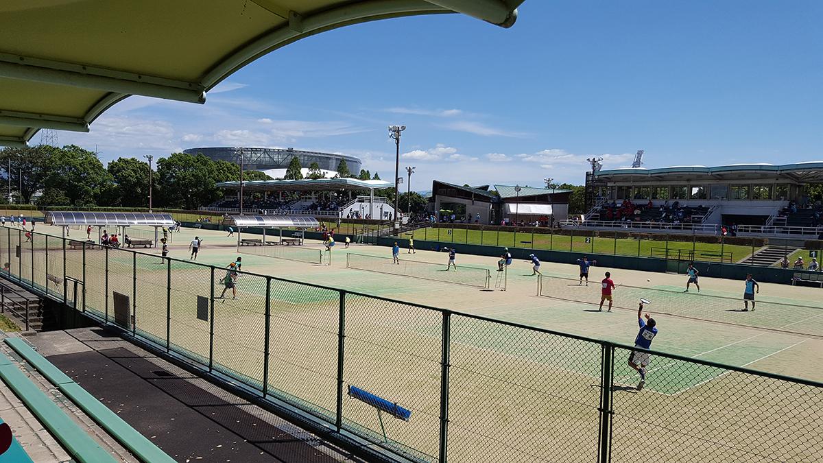 熊本市内観光,熊本県民総合運動公園テニスコート