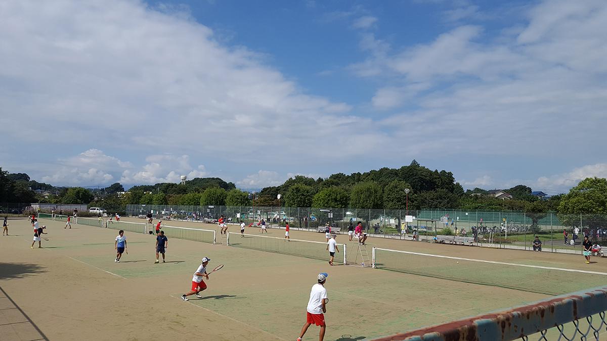 所沢オープンソフトテニス大会,北野総合運動公園テニスコート