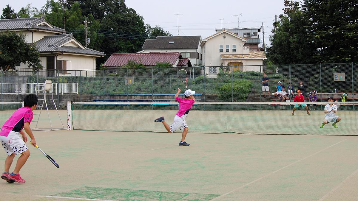 所沢オープンソフトテニス大会,滑川クラブ,さくらそう,上尾高校OBクラブ