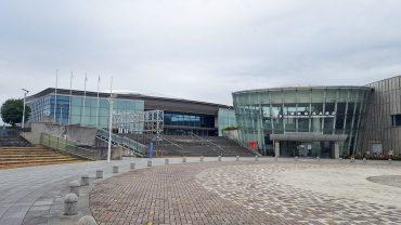 横浜インドアソフトテニス,横浜国際プール
