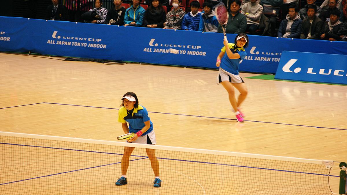 ルーセントカップ東京インドア全日本ソフトテニス大会,高橋・半谷,どんぐり北広島