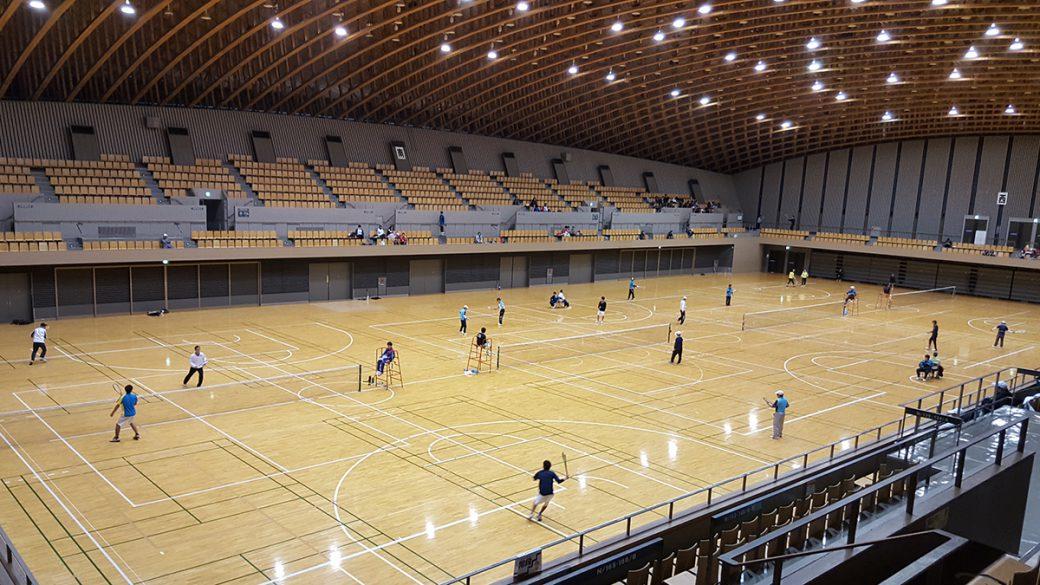 所沢市室内ソフトテニス大会
