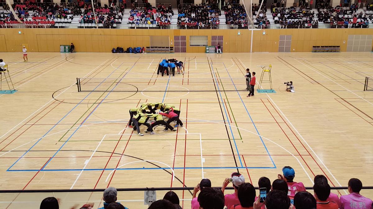 東京都高等学校ソフトテニスインドア大会