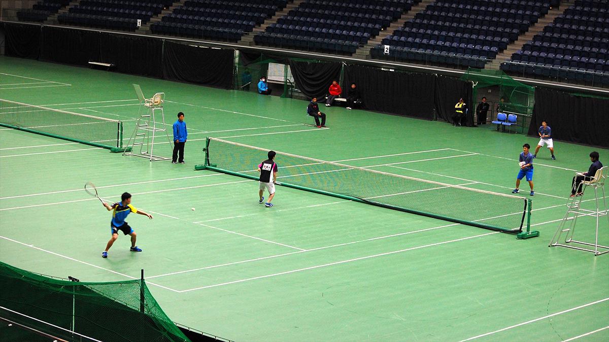 全日本私立高等学校選抜ソフトテニス大会,横浜国際プール