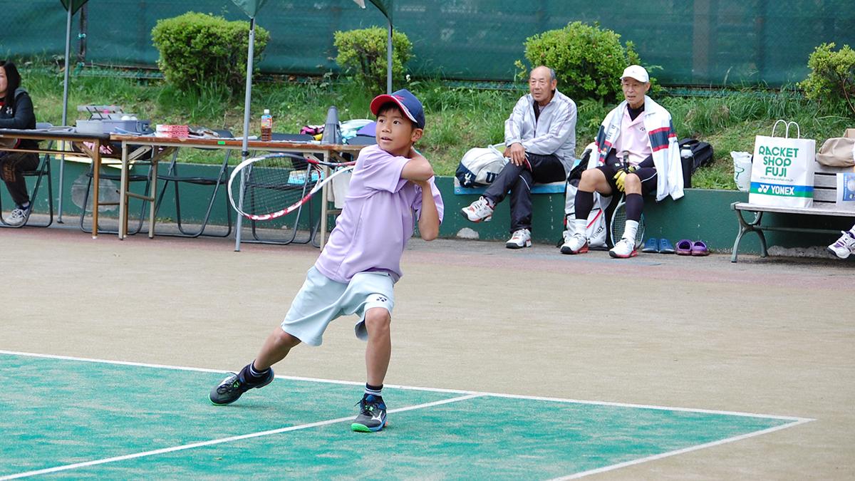 稲城ジュニアソフトテニスクラブ,山中一世