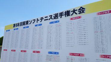 関東ソフトテニス選手権大会