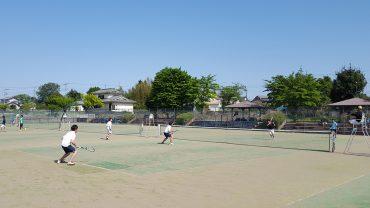 所沢市民ソフトテニス大会
