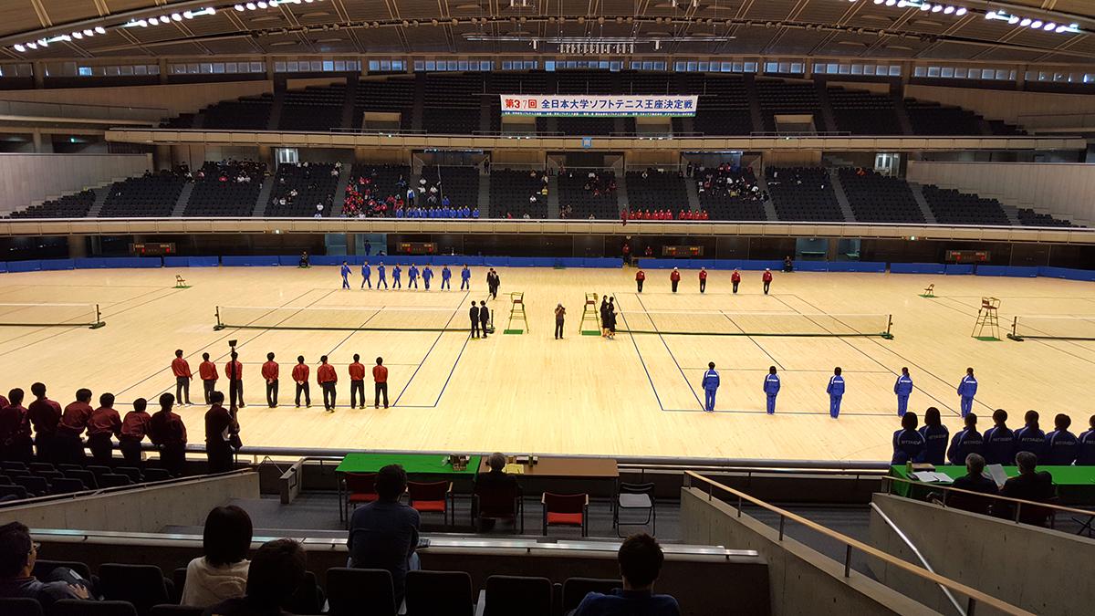 全日本大学ソフトテニス王座決定戦,早稲田大学,日本体育大学