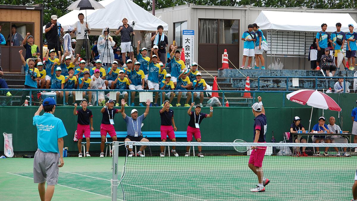 インターハイ,ソフトテニス,団体戦,つるぎ