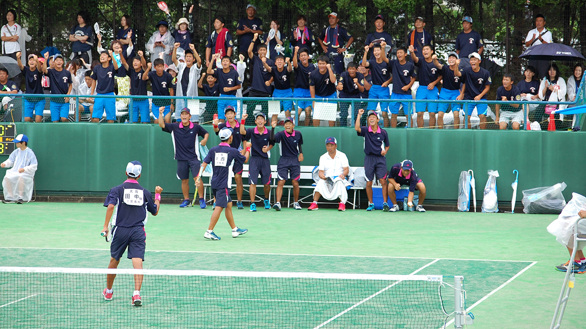 インターハイ,ソフトテニス,団体戦,上宮
