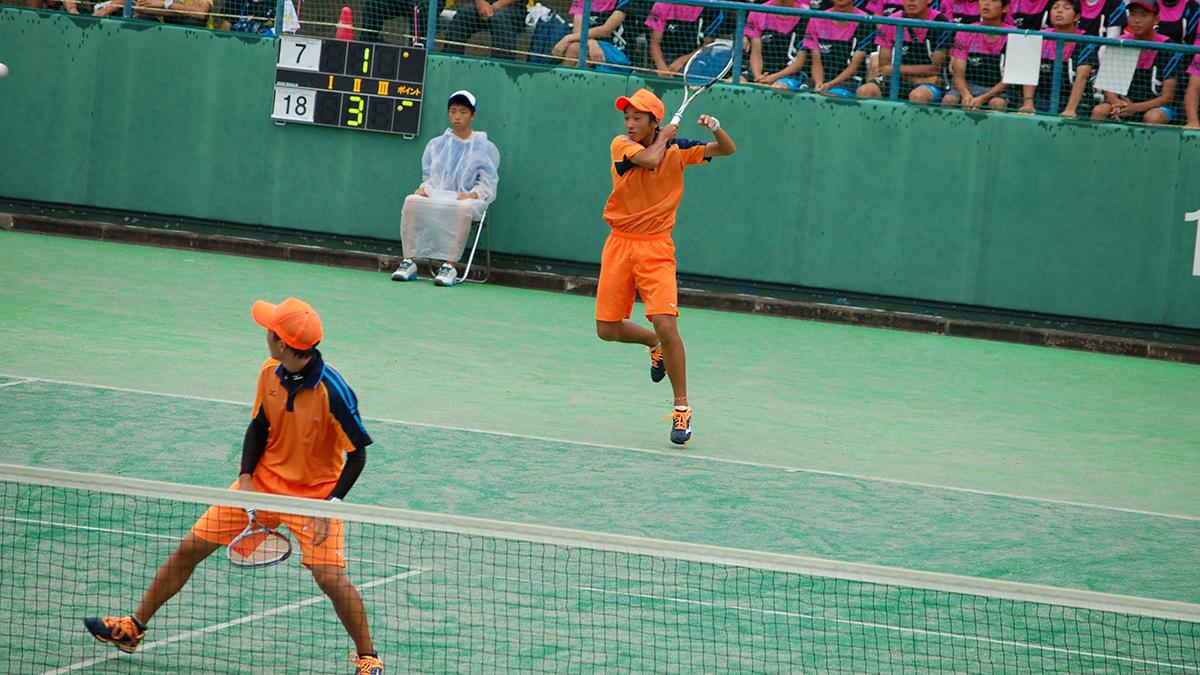インターハイ,ソフトテニス,団体戦,羽黒