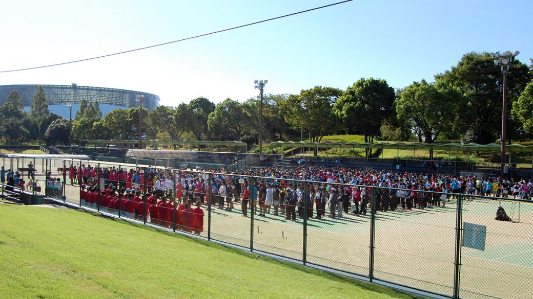 全日本社会人ソフトテニス選手権,熊本県民総合運動公園