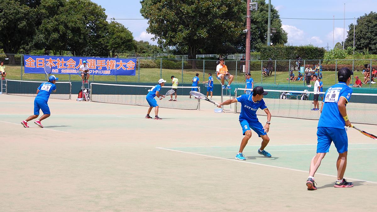 全日本社会人ソフトテニス選手権,NTT西日本