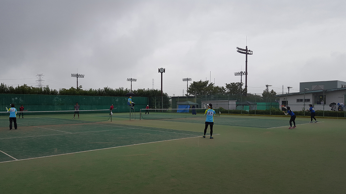 埼玉県成年選手権,埼玉県ソフトテニス連盟,坂戸市民総合運動公園テニスコート