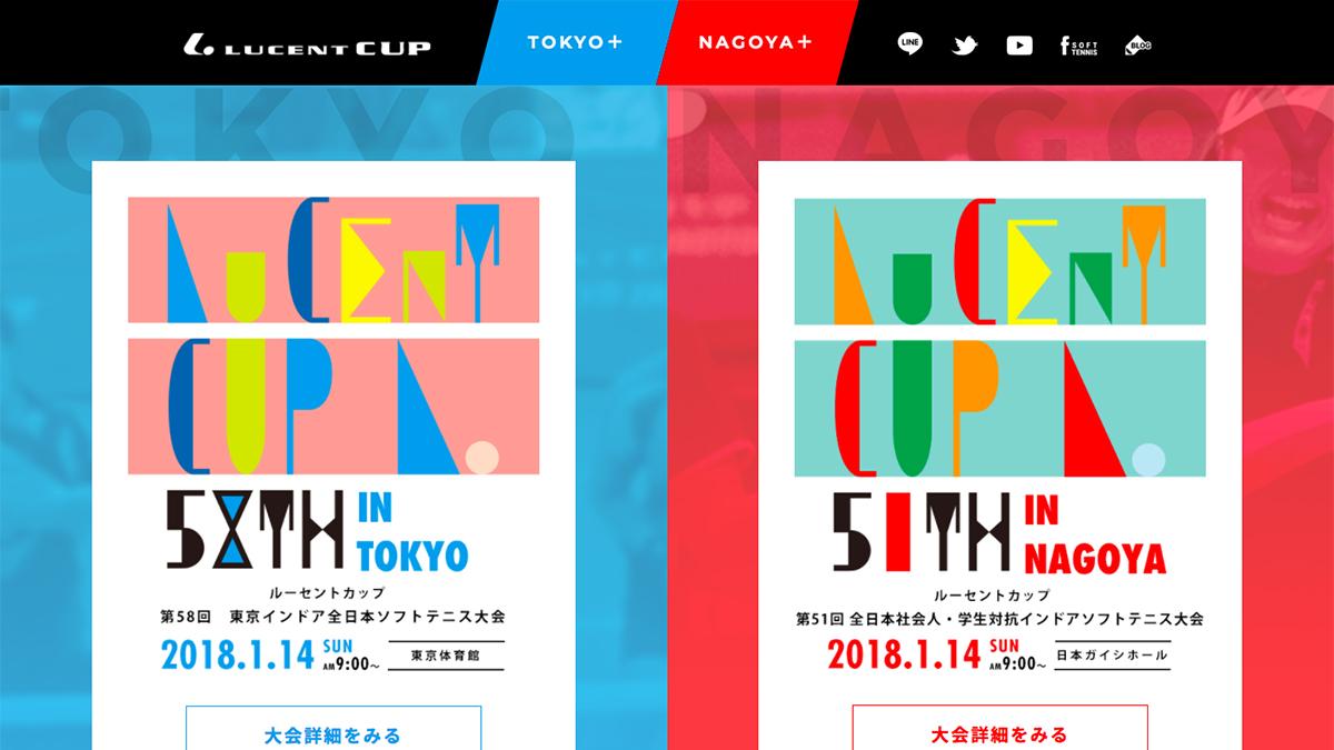 ルーセントカップ2018,東京インドア
