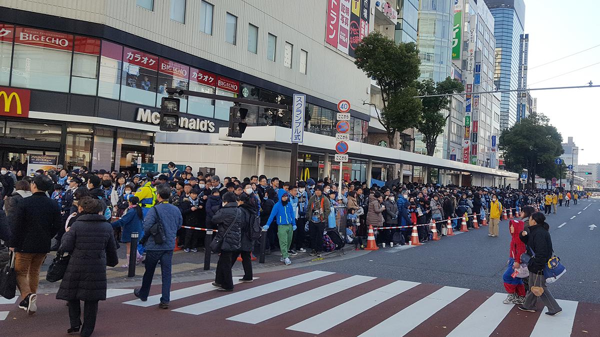 川崎フロンターレ,Jリーグ優勝パレード