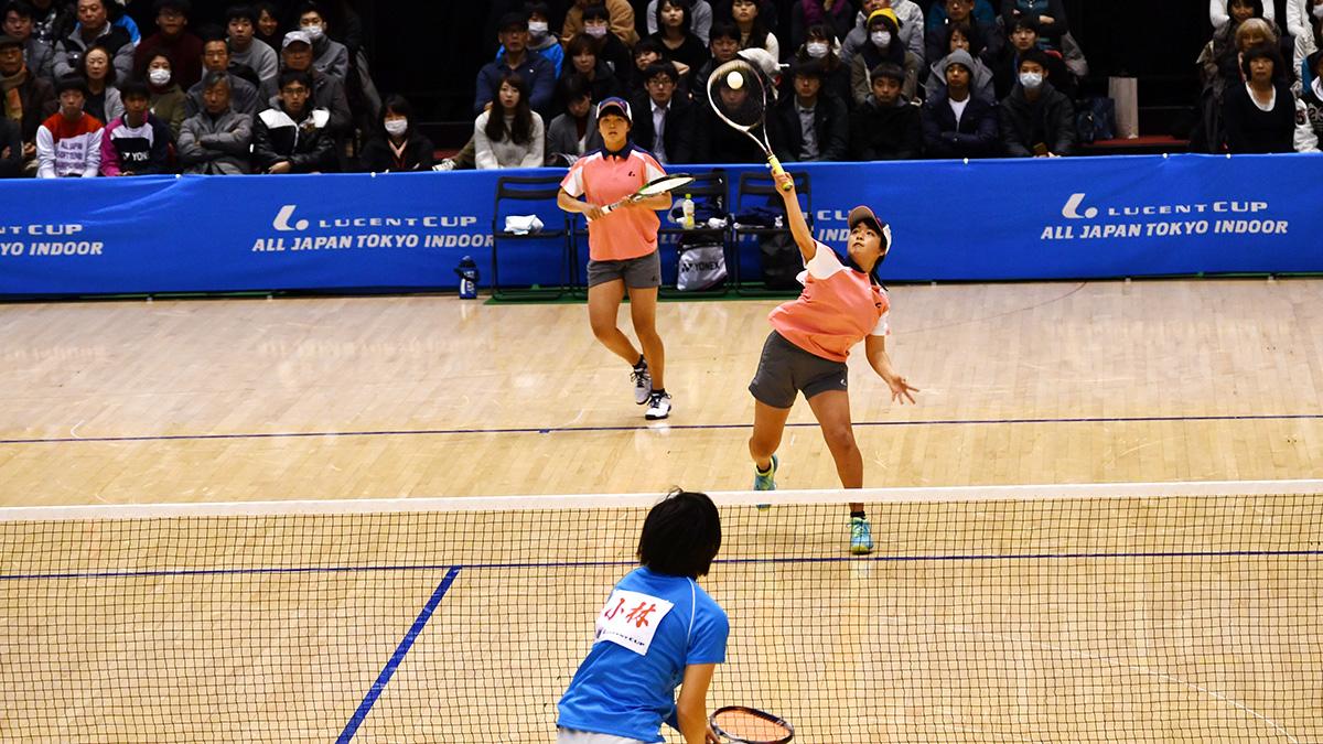 平成29年度(2018)ルーセントカップ東京インドア全日本ソフトテニス大会,林田宮下
