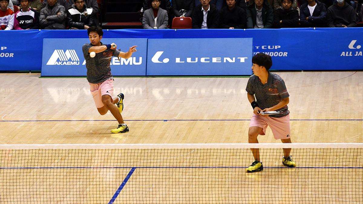平成29年度(2018)ルーセントカップ東京インドア全日本ソフトテニス大会,船水上松