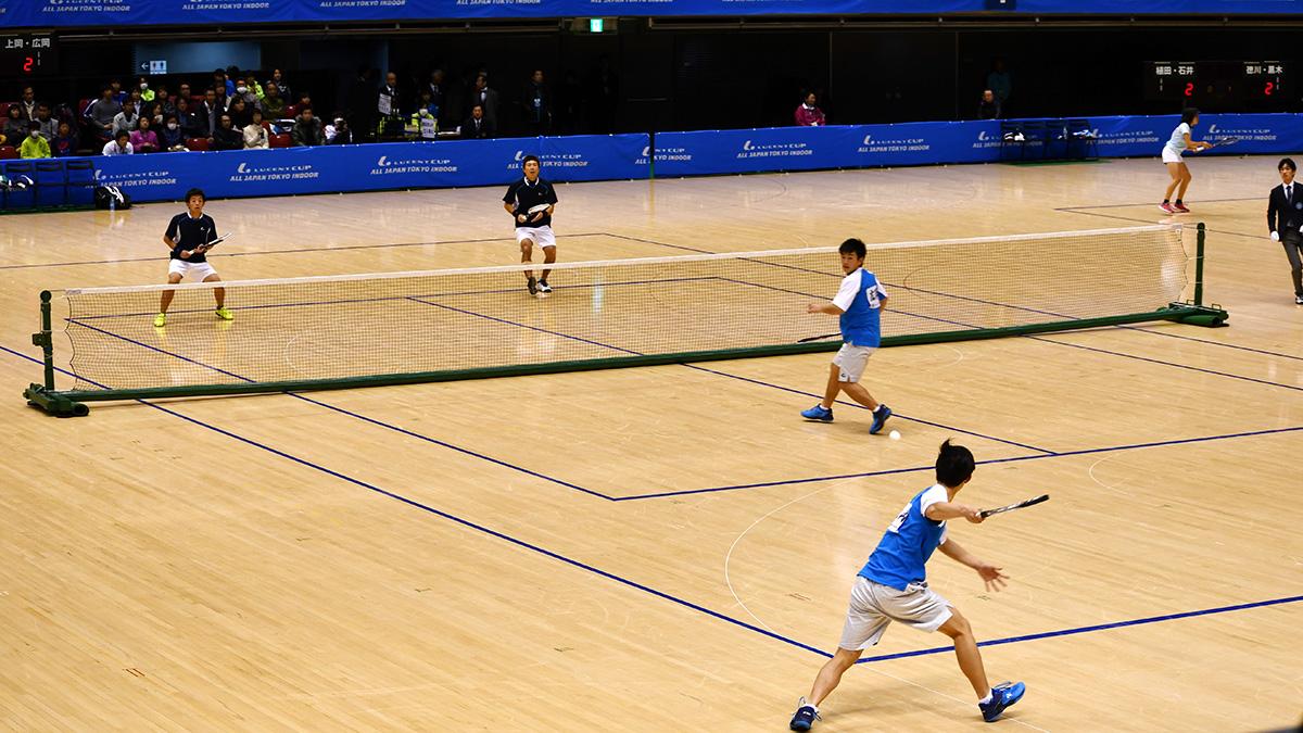 平成29年度(2018)ルーセントカップ東京インドア全日本ソフトテニス大会,水澤村上,上岡広岡