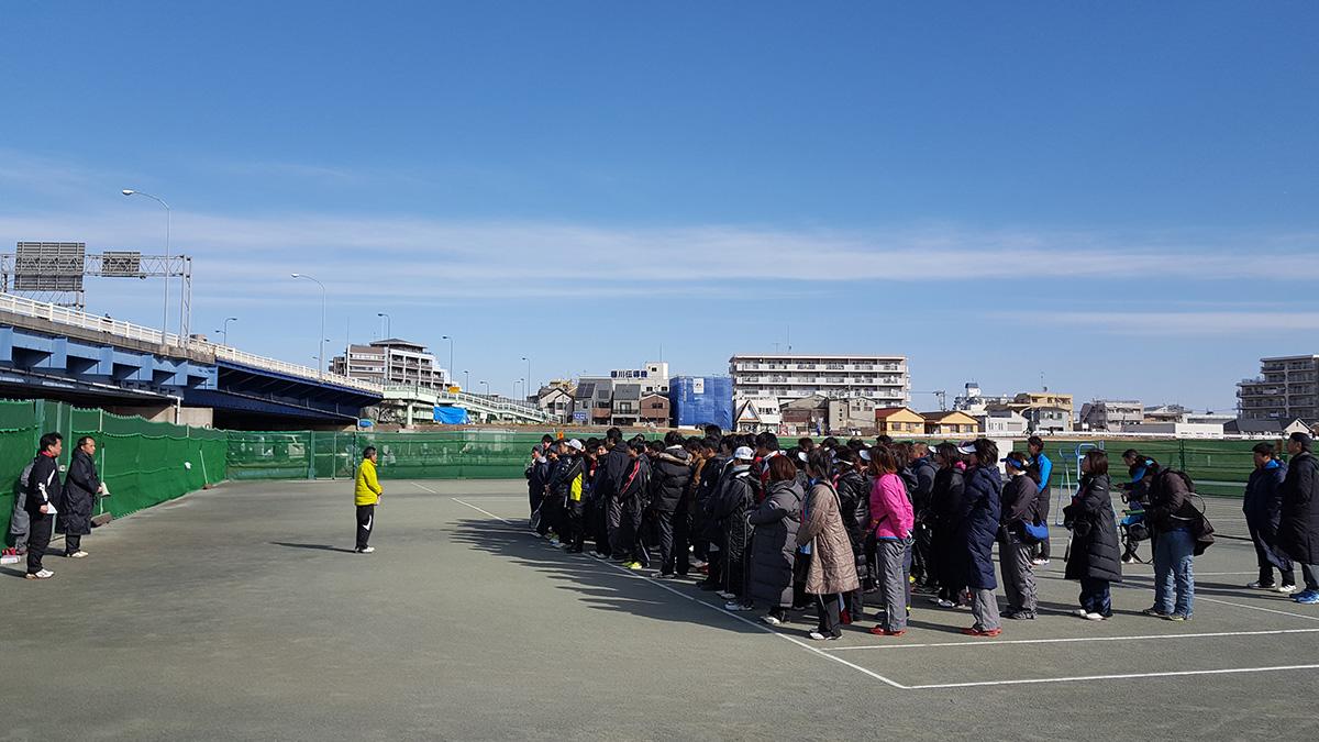 大田区クラブ・実業団対抗戦(石井杯),多摩川六郷橋緑地テニスコート