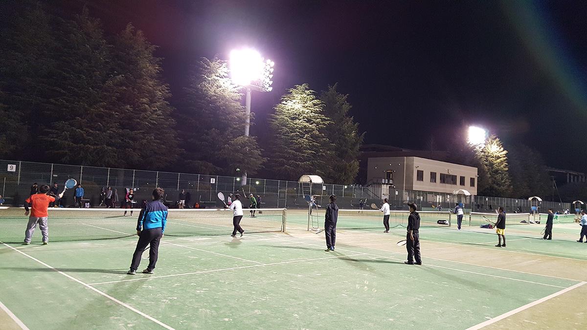 武蔵小杉ソフトテニス練習会,等々力テニスコート