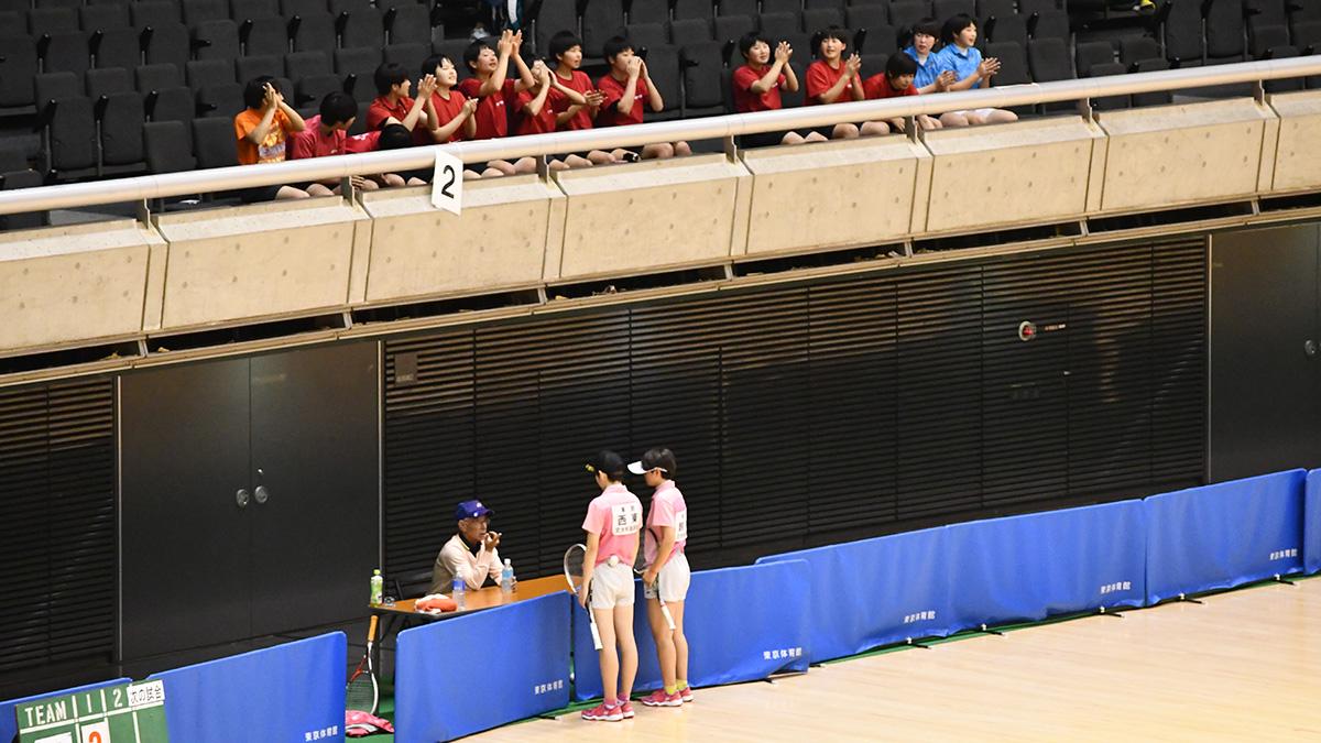 全日本私立高等学校選抜ソフトテニス大会,東京体育館,文大杉並