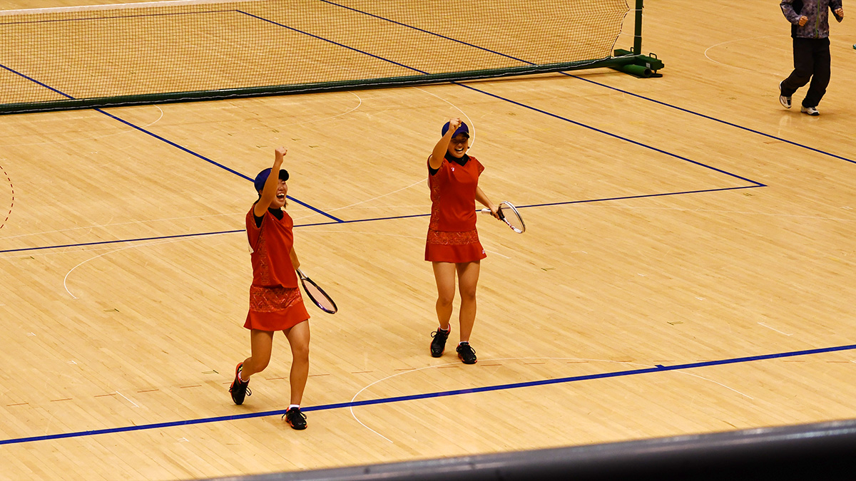 全日本私立高等学校選抜ソフトテニス大会,昇陽,上野・吉田ペア
