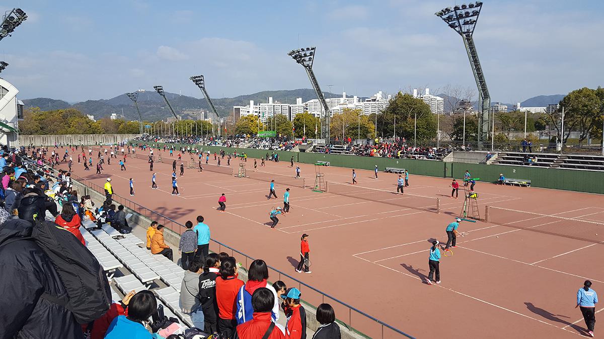 第22回アジアカップひろしま国際ソフトテニス大会,2018,広島翔陽テニスコート