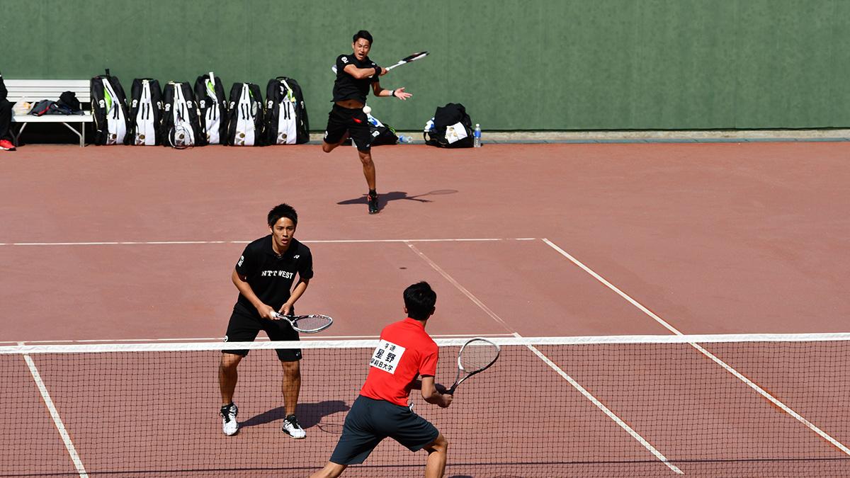 第22回アジアカップひろしま国際ソフトテニス大会,2018,NTT西日本,早稲田大学