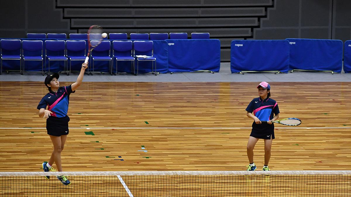 平成29年度(第29回)都道府県対抗全日本中学生ソフトテニス大会,三重県営サンアリーナ,山陽女子