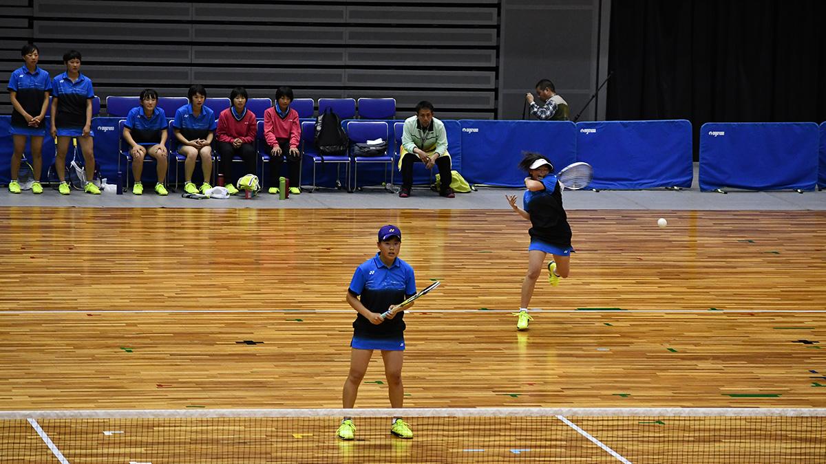 平成29年度(第29回)都道府県対抗全日本中学生ソフトテニス大会,三重県営サンアリーナ,昇陽