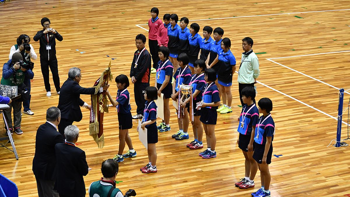 平成29年度(第29回)都道府県対抗全日本中学生ソフトテニス大会,三重県営サンアリーナ,山陽女子,昇陽