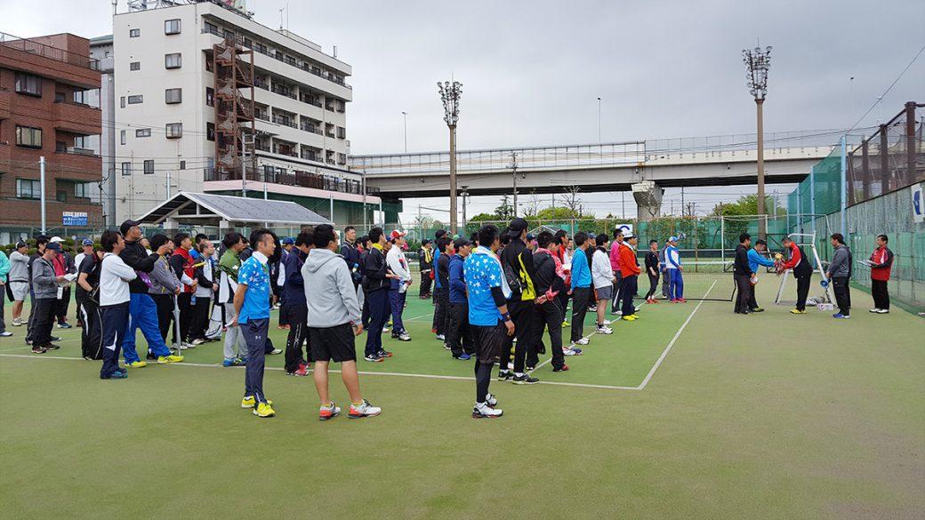 関東オープンソフトテニス選手権,谷河内テニスコート