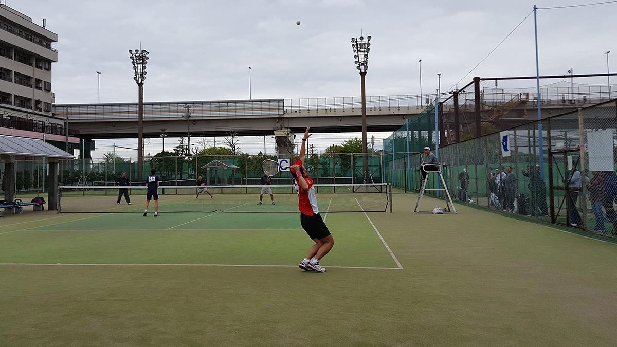 関東オープンソフトテニス大会,谷河内テニスコート,45男子