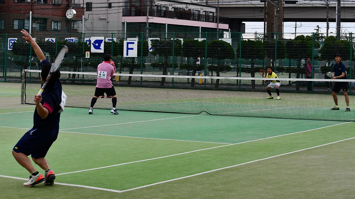 関東オープンソフトテニス大会,谷河内テニスコート,35男子