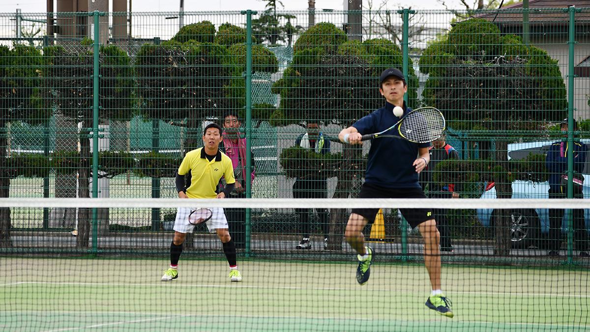 関東オープンソフトテニス大会,谷河内テニスコート,若月組,同志組