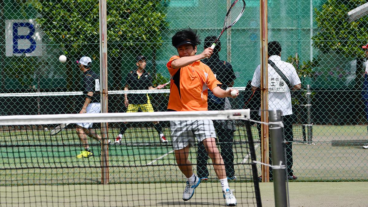 関東オープンソフトテニス大会,谷河内テニスコート,池上クラブ,藤井アナ