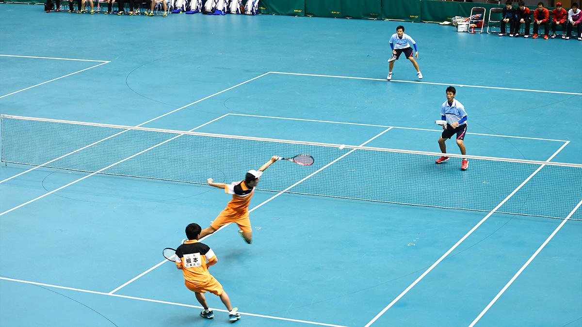 平成29年度(2018)全日本高等学校選抜ソフトテニス大会,羽黒, 根本・齋藤