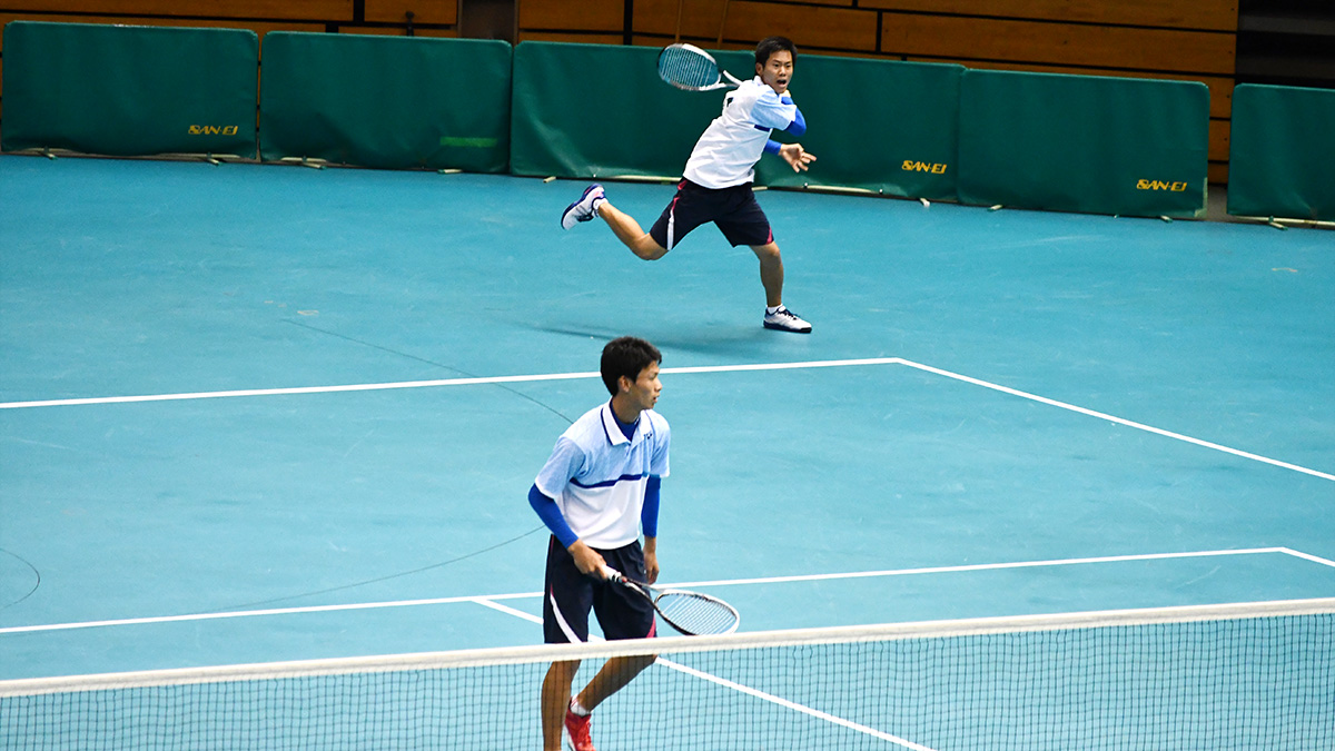 平成29年度(2018)全日本高等学校選抜ソフトテニス大会,上宮,中西・田中